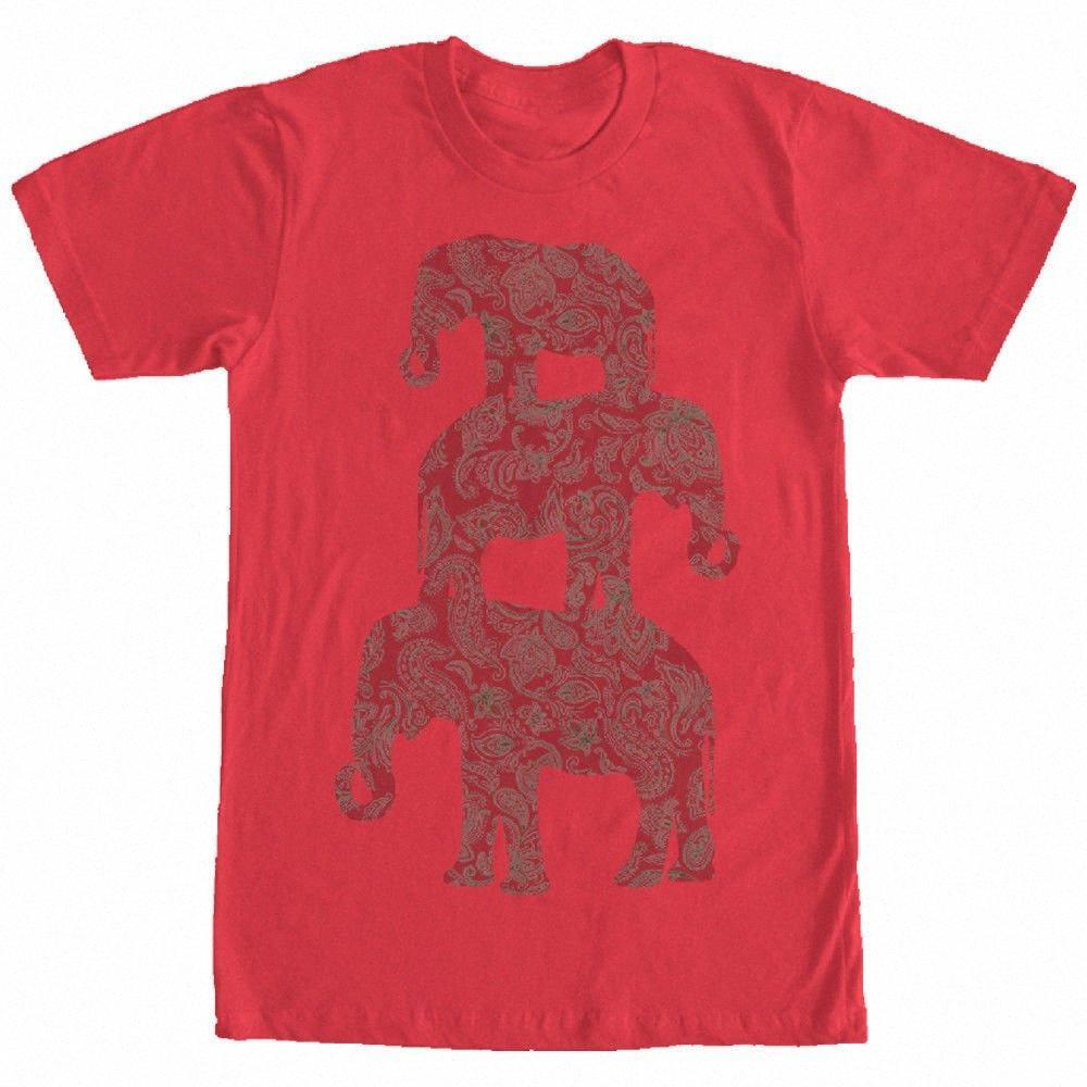Verlorene Götter Drei Elephant Pyramide der Männer-Grafik-T-Shirt Long Sleeve T Shirt Entwerfen Sie Ihr eigenes T-Shirt GqHG #