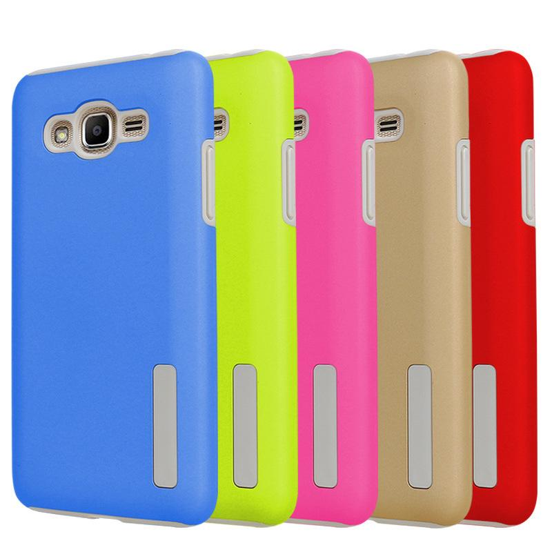 For Samsung A20S A21S A10S J2 Core A51 Hybrid Case TPU+PC Smooth Armor Cover Matte regular case Galaxy Note 10 9 8 s8 s9 s10 20 plus