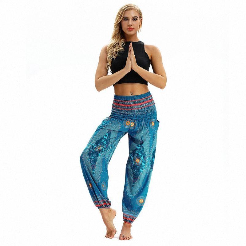 Женщины Длинные Pant Сыпучие Багги Гарем Спортивные брюки Брюки для печати Пляж Незначительные Брюки Леггинсы Бег Йога Фитнес Clothing30 ZwAW #