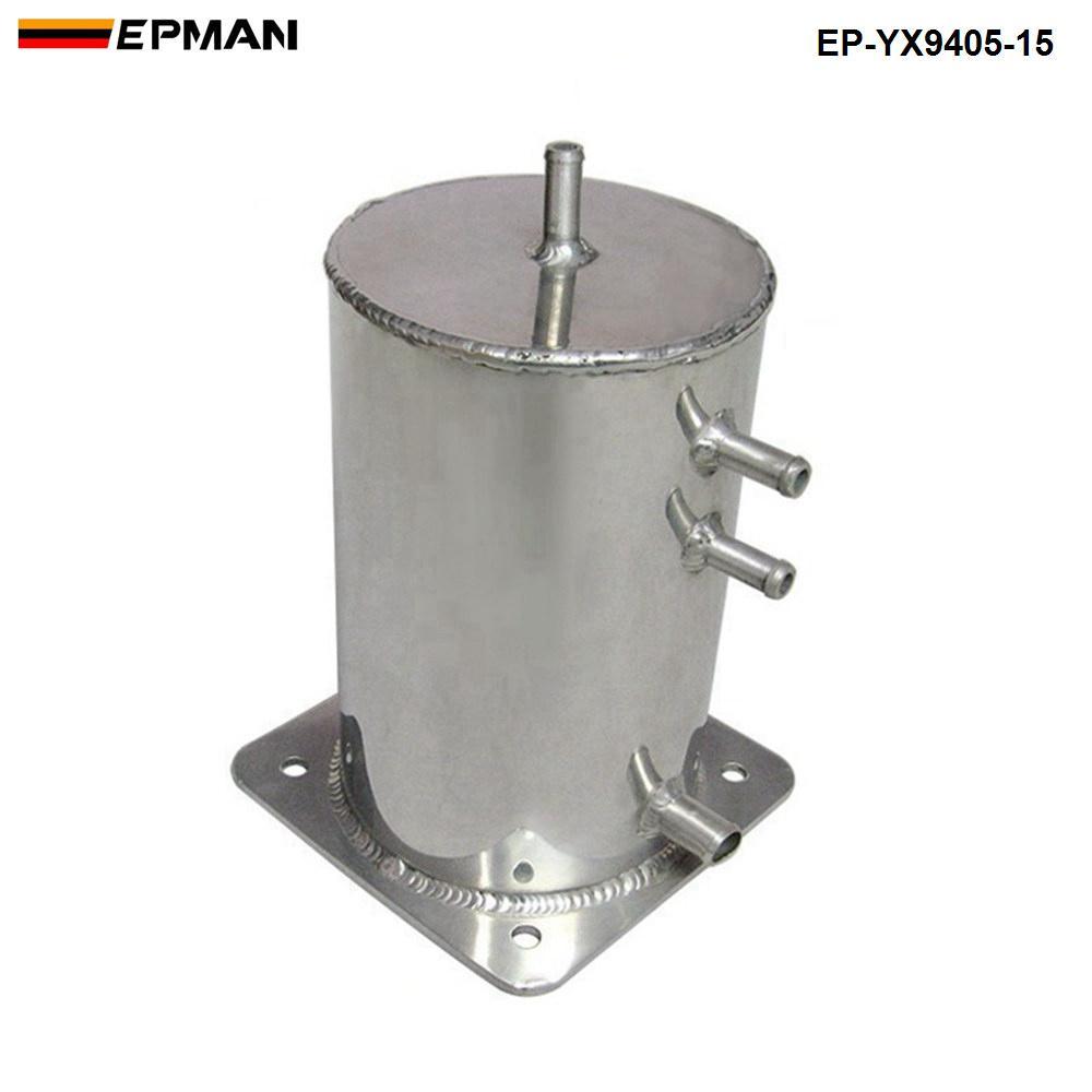 EPMAN Yakıt Girdap Pot Alaşımlı 1.5 LT Yakıt Dalgalanma Tankı Motorsport Yarış Drift Ralli Sürükle Araba EP-YX9405-15
