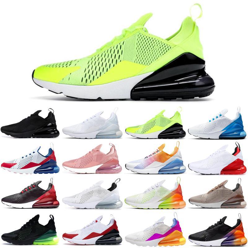 nike air max airmax 270 novos homens mulheres tênis triplo preto branco rosa EUA easter cactus volts ao ar livre das mulheres dos homens treinadores desportivos sneakers corredores