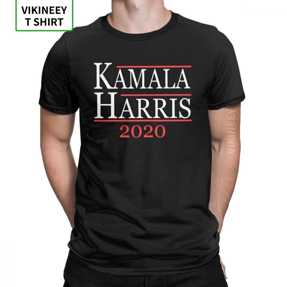 Kamala Harris für Präsidenten 2020 T-Shirt Männer Wahl Demokrat Grafik-T-Shirt O-Ansatz Baumwollkleidung neue Ankunft T-Shirt