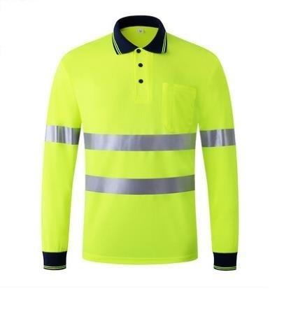Yeni Yaz Modası Nefes Floresan Yansıtıcı tişört şort Trafik Güvenliği Giyim T190622 Uyarı