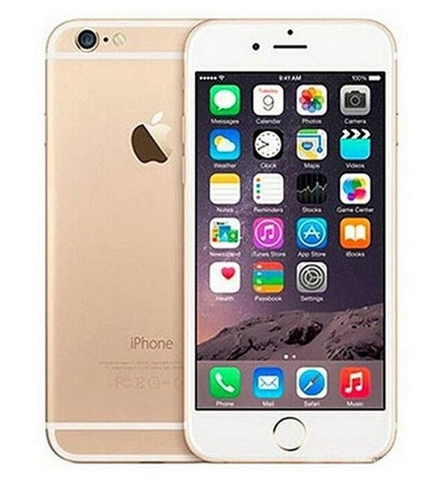 100% iPhone da Apple Original 6 Sem Dedo impressão 128GB / 64GB / 16GB de 4,7 polegadas A8 IOS 11 telefones celulares recondicionados
