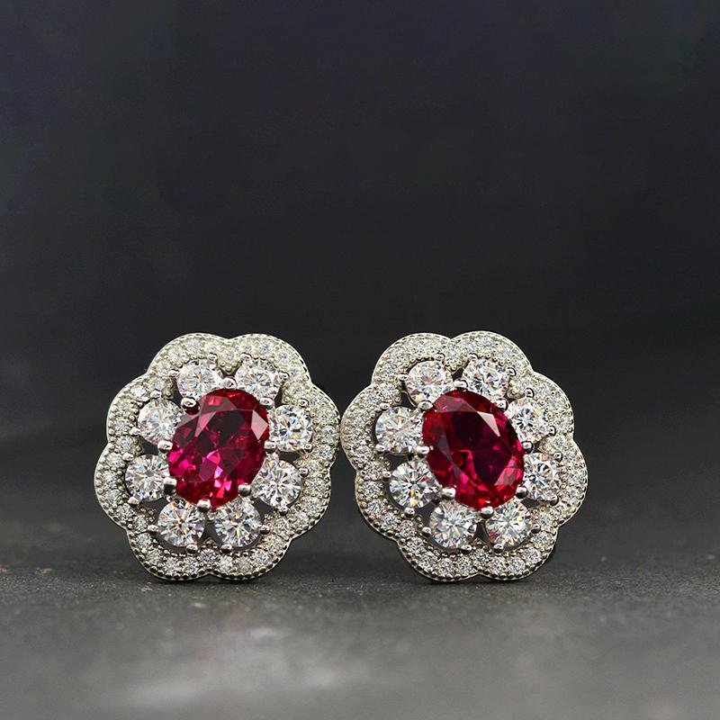 Женские серьги Дизайнерские Роскошные ювелирные изделия стерлингового серебра 925 кристаллические Бриллиантовые серьги стержня