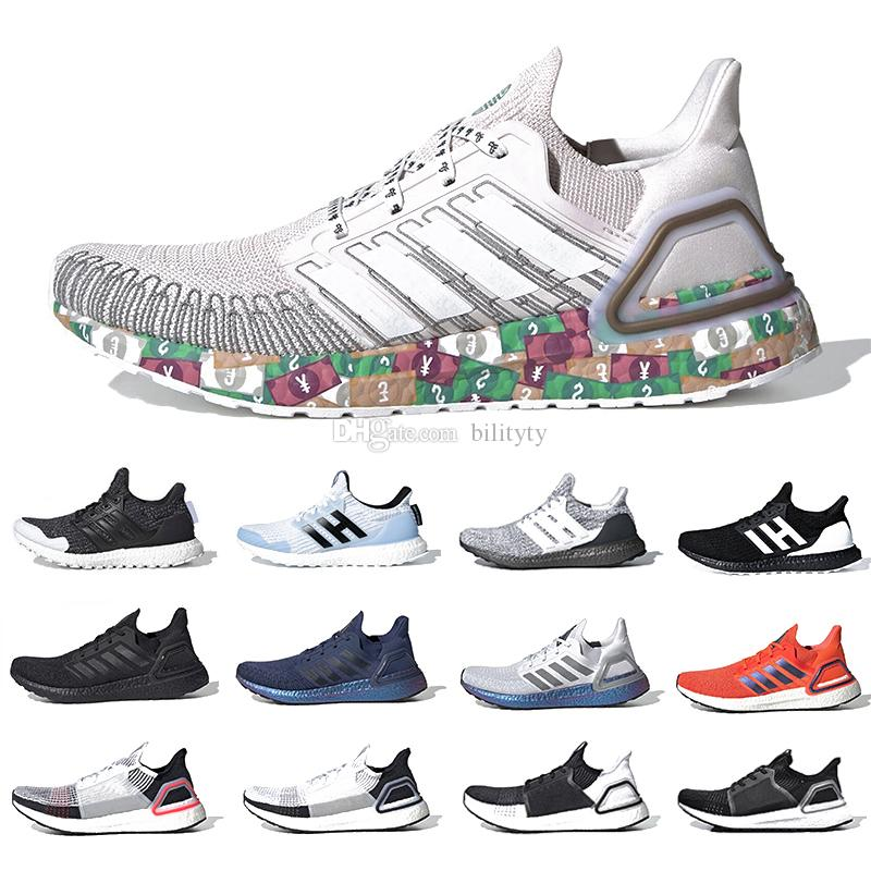 Stock X Masks Ultraboost 6.0 Ultra boost 2020 Mens Running shoes Rainy Season Woodstock nice kick men women designer sports sneakers 7339044