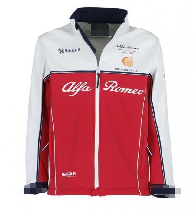 2019 explosive F1 Formula One jacket jacket Alfa Romeo Kimi Raikkonen racing suit