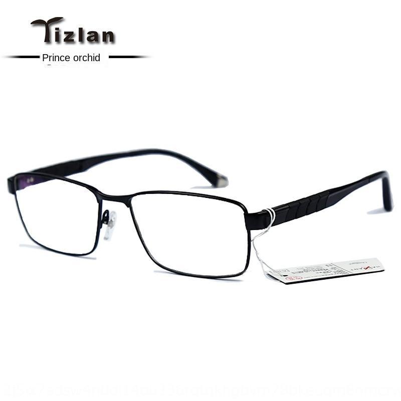 Noble Xia Meng Z titânio grande cara gorda titânio puro moldura ultra-quadro de luz dos homens completos ZT19853 Óculos Óculos yeNCq