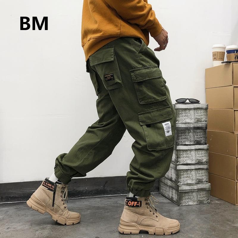 Giapponese Streetwear alta qualità jogging uomini sciolti Tuta modo coreano di stile Hip hop Harajuku Cargo Pants Casual