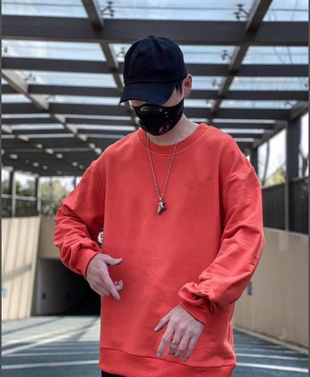 2020 Nova LN4029 Primavera Hoodie Streetwear algodão casuais camisola Hoodies roupas Pullover Hoodies Sweat Casual camisola Men
