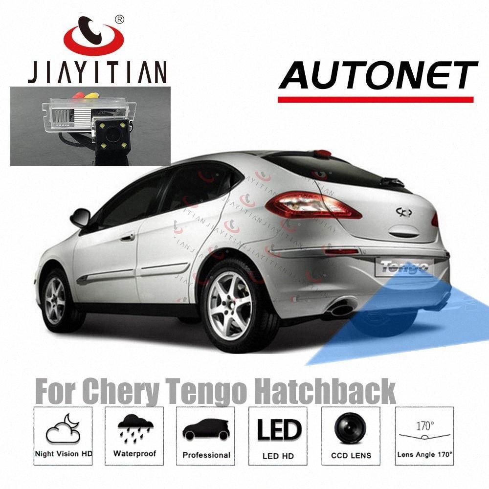 JIAYITIAN câmera de visão traseira Por Chery Tengo Hatchback 2010 ~ 2015 CCD / Night Vision / Backup Camera Reversa carro 1xcp #