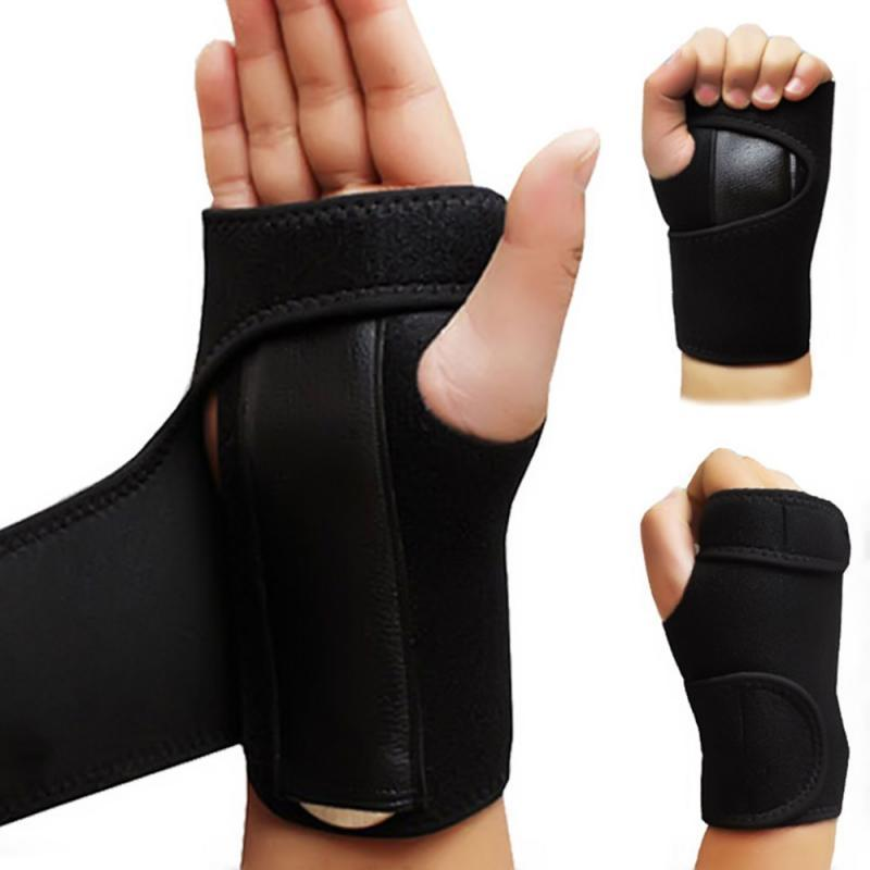 1PCS Handgelenkstütze Einstellbare atmungsaktive Handgelenkschutz Elastic Soft-Armband Bandage Unterstützung Arthritis Verstauchung Carpal TunnelTXTB1