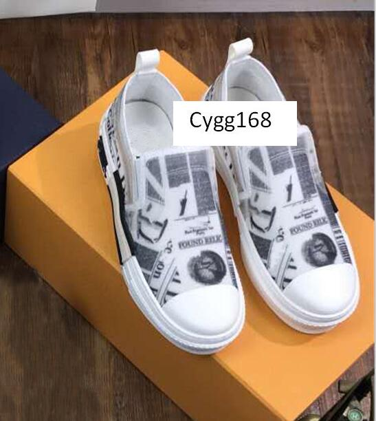Tamaño de la moda de los zapatos ocasionales B23 oblicuas de alta Top zapatillas de deporte para mujer para hombre de moda Mandriles vulcanizados hielo Chaussures 35-44