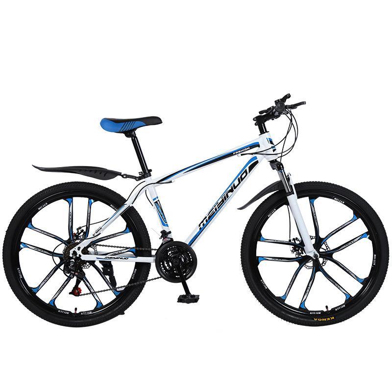 Urban City mountain bike 26-inch steel 21/24/27 speed bicycles dual disc brakes variable speed road bikes racing bicycle