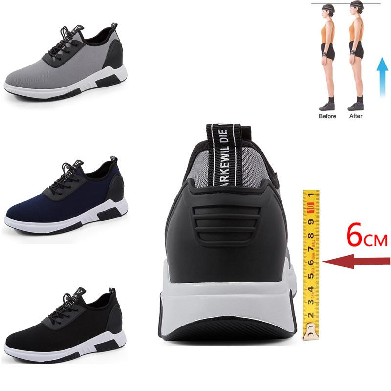 Elevator Shoes Shoes Men Sneakers High
