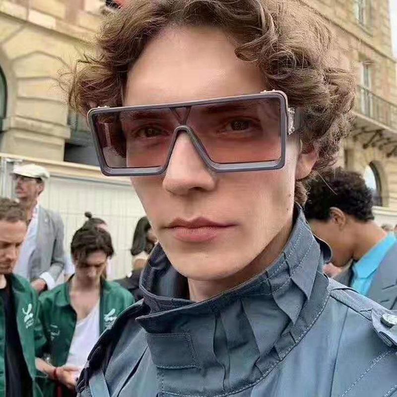 New fashion Square PC men sunglasses UV400 full frame six colors designer sunglasses for adult mens sunglasses