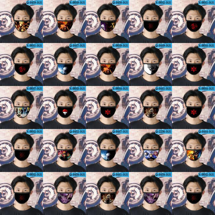 Kadın Karikatür Yüz Maskesi 03 Naruto Sd NqsZf jjxh için Naruto Sd Cubrebocas Tasarımcı Tapabocas Yeniden kullanılabilir Yüz Maskesi