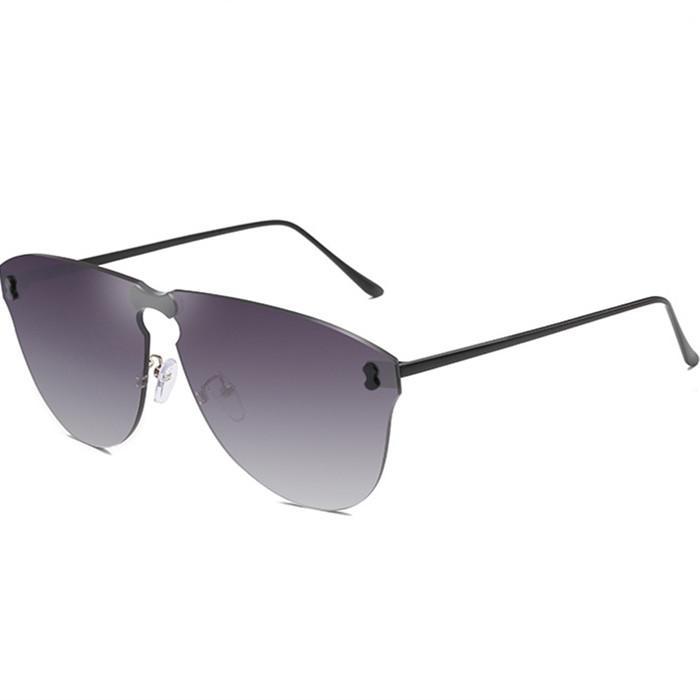 Nova moda e com óculos de sol Os óculos de sol e homens designer americano metal sem moldura mulheres europeias mesmas óculos de sol Siwwr