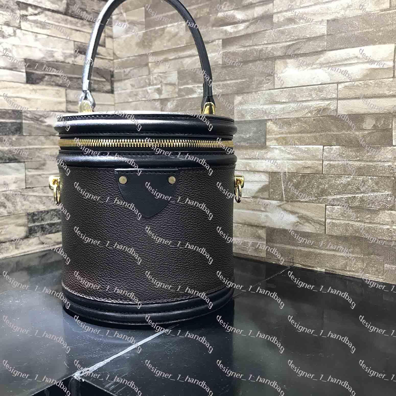 2017 حقيبة يد إلكتروني زهرة الكلاسيكية عنصر تصميم كان مطابقة اللون مستديرة حقيبة دلو الأزياء حقيبة مستحضرات التجميل