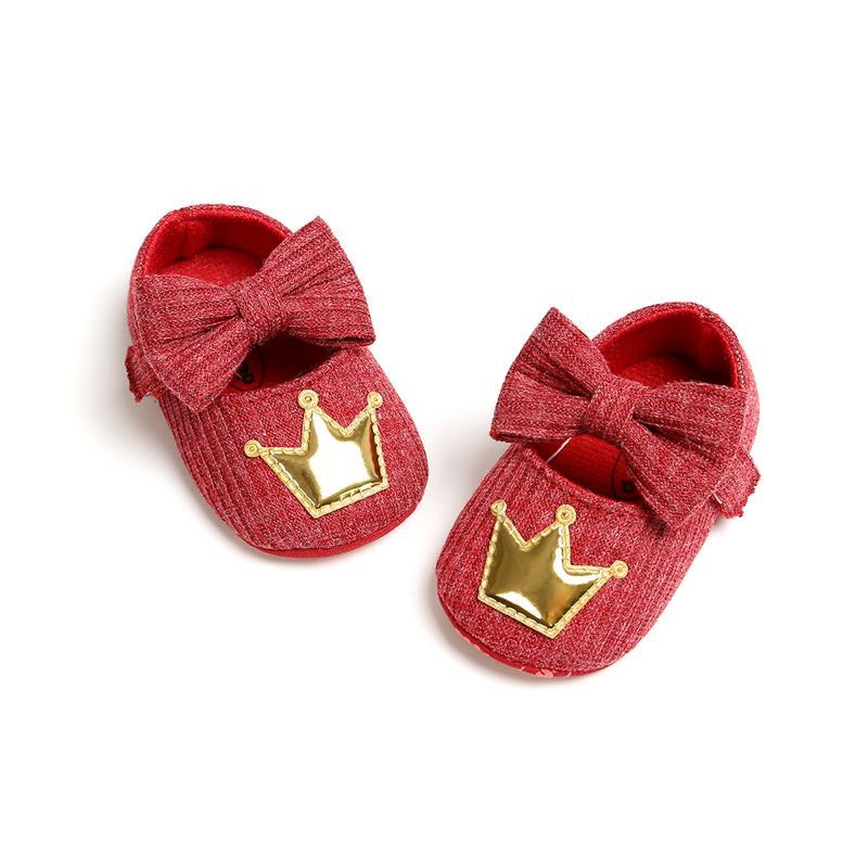 Toddler Baby Shoes Newborn Girl Bowknot Soft Sole Princess Crib Kid Summer Shoes