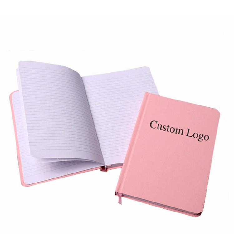 Custom logo A4 A5 hardcover paper notebook agenda journal book organizer planner notebook