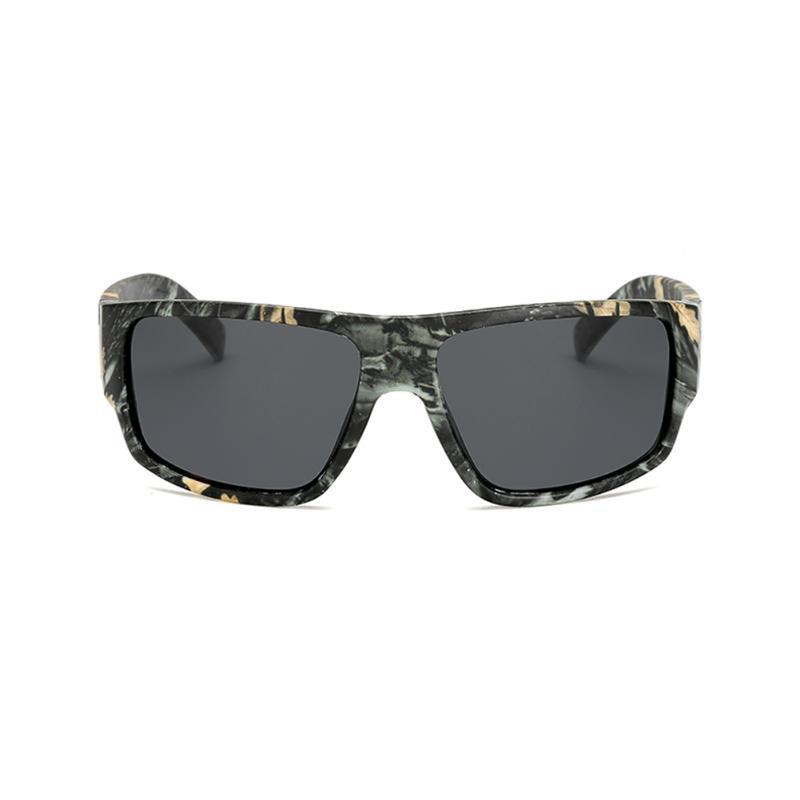 samjune المستقطبة بولارويد الرجال نظارات شمسية الرياضة مصمم التمويه العلامة التجارية الرجعية دي سول النظارات الشمسية للرجال والنساء