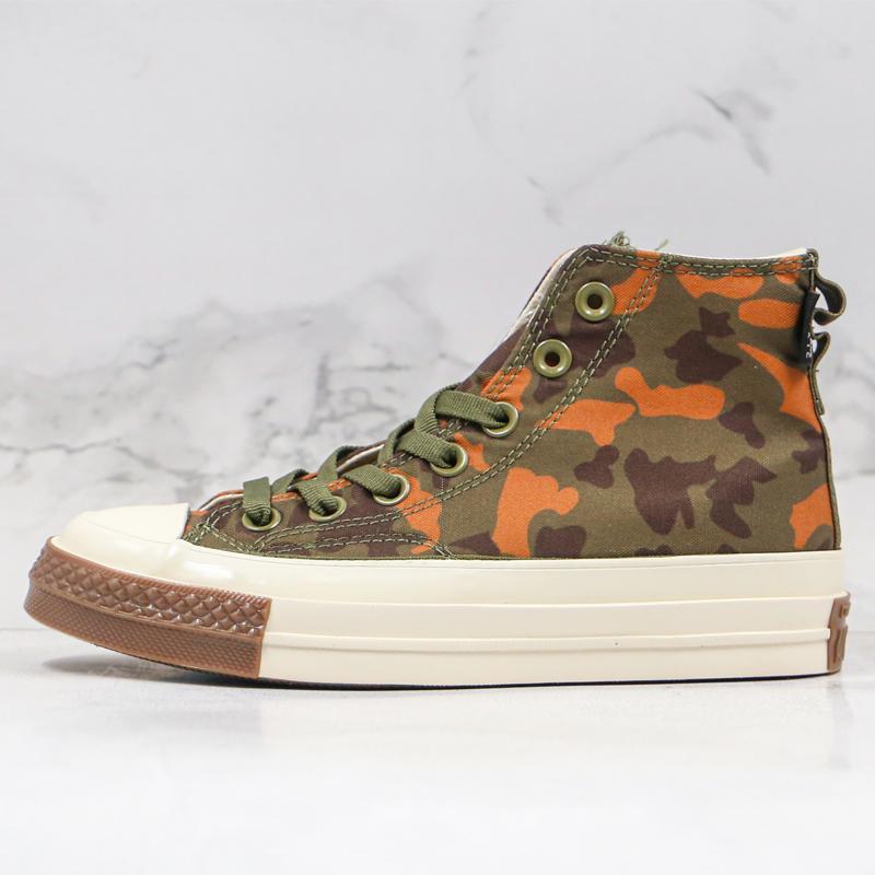 Mais recente 1970 Chuck 70 Homens Mulheres sapatas de lona Skateboarding Chuck 70 Clássico 1970 Camouflage Fashion Designer Casual Desportivo Sneakers 36-44