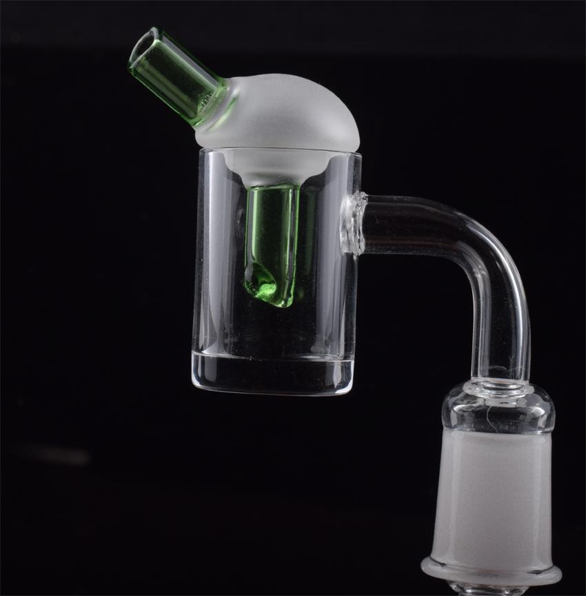Cam dab teçhizat için renkli cam karbonhidrat Cap 5mm Alt çete üyesiyle Toptan fiyat 10mm 14mm 18mm erkek dişi kuvars Banger'ı Kubbesiz çivi