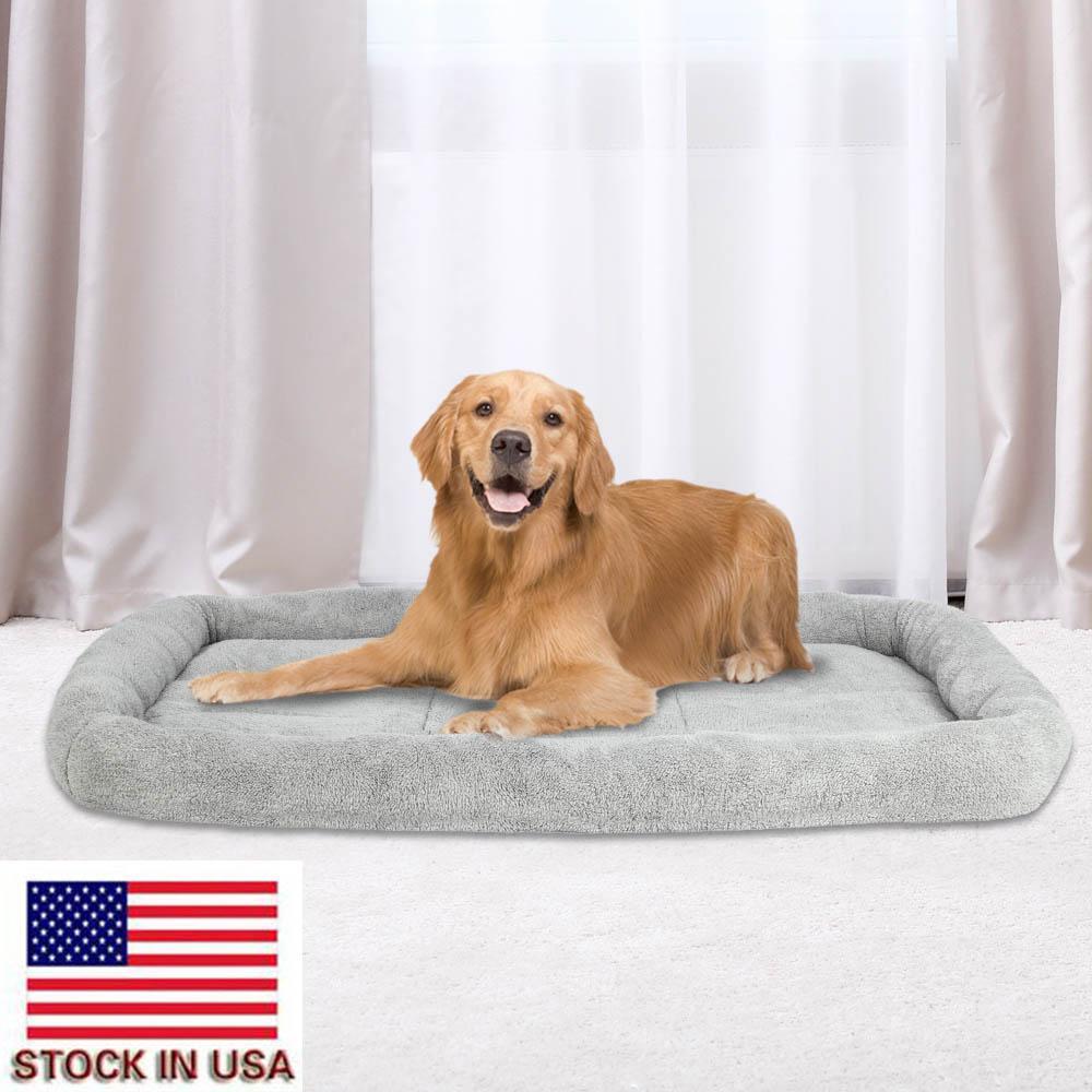 51.18 x 35.83 x 4.33 pollici pet canile base del cane di velluto materasso quadrato cane super soft confortevole ammortizzatore dell'animale domestico