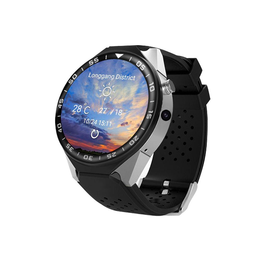Luxo S99C relógio inteligente Android 5.1 MTK6580 1GB / 16GB Heart Rate Monitor pedômetro Bluetooth 3G WiFi Camera GPS Smartwatch frete grátis MQ01