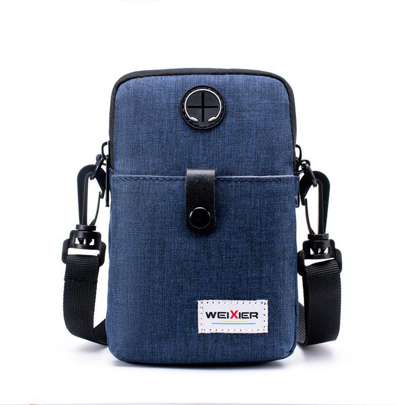 بسيطة الهاتف المحمول أكياس النايلون أكياس طالب حقيبة يد رسول حقيبة واحدة الكتف حقيبة الذكور رسول حقائب صغيرة للرجال