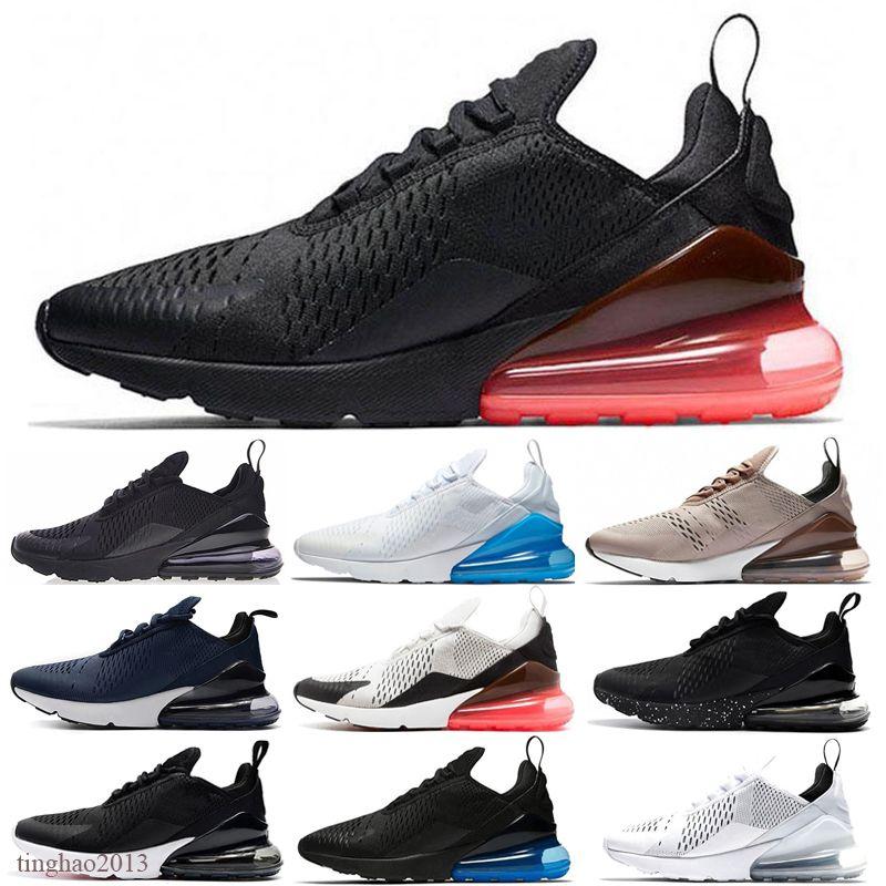 Nike air max 270 2020 Bred femmes Platinum Tint running Hommes Chaussures Triple Noir Université blanc rouge Tigre bleu olive Void sport HOMME Baskets Chaussures Sneakers