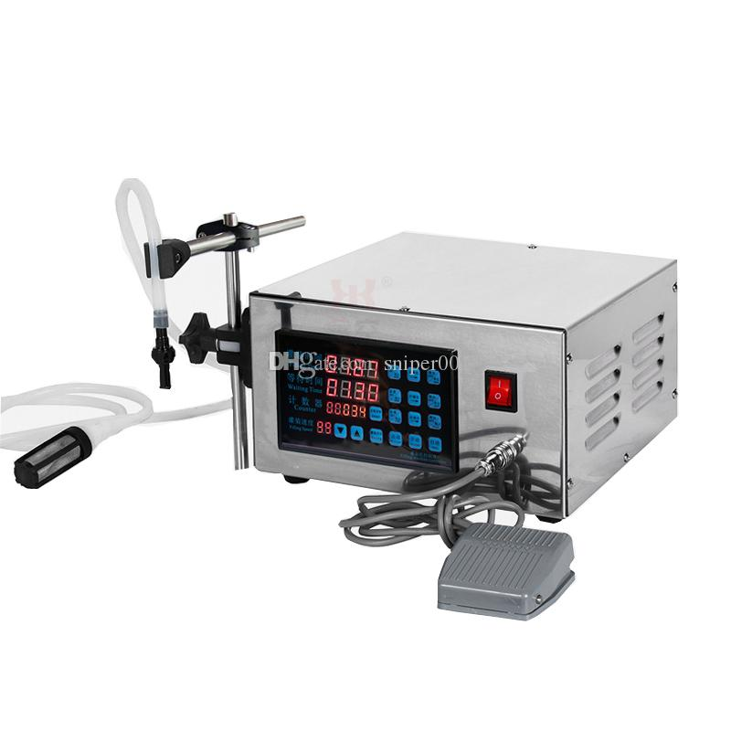 liquids filling machine Mini bottled water filler Digital Pump For perfume drink milk olive oil filling machine