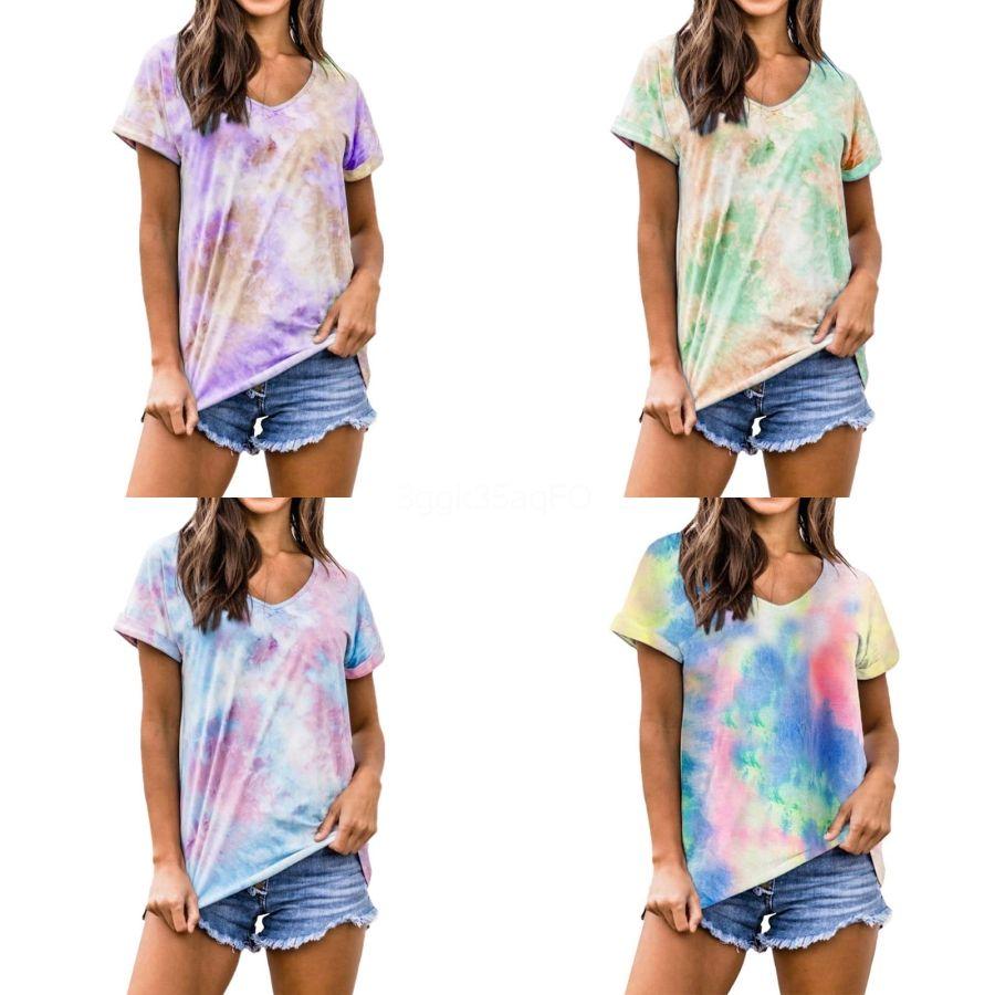 La nueva manera de la cucharada de las mujeres del cuello de la cosecha Tops manga corta Bare Midriff blusa ocasional de la camiseta floja de la camiseta del algodón Mujeres top # 544