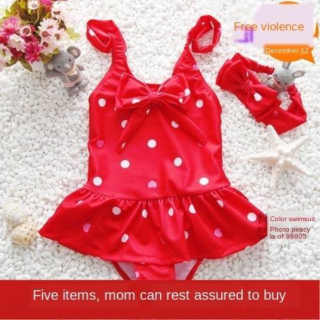 hiVuR Nueva Nueva una sola pieza linda chica linda chica de los niños del bebé del traje de baño de los niños del bebé del vestido de una sola pieza traje de baño vestido