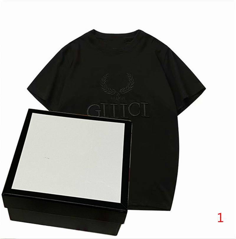 20s camiseta ocasional de los hombres de moda de verano la impresión del modelo de cuello redondo de manga corta unisex para mujer para hombre T remata camisetas Ropa LR181222