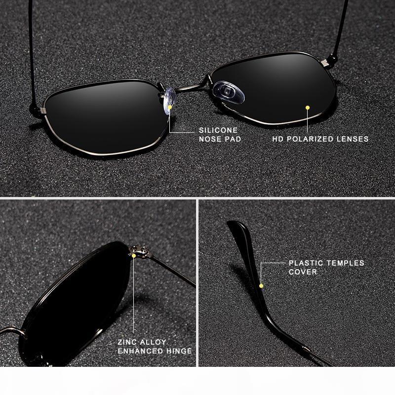 KINGSEVEN Klasik Tasarımcı Güneş Kadın Retro Yansıtan Güneş Erkekler Yuvarlak Polarize Gözlük óculos De Sol gafas MX200619 gözlük