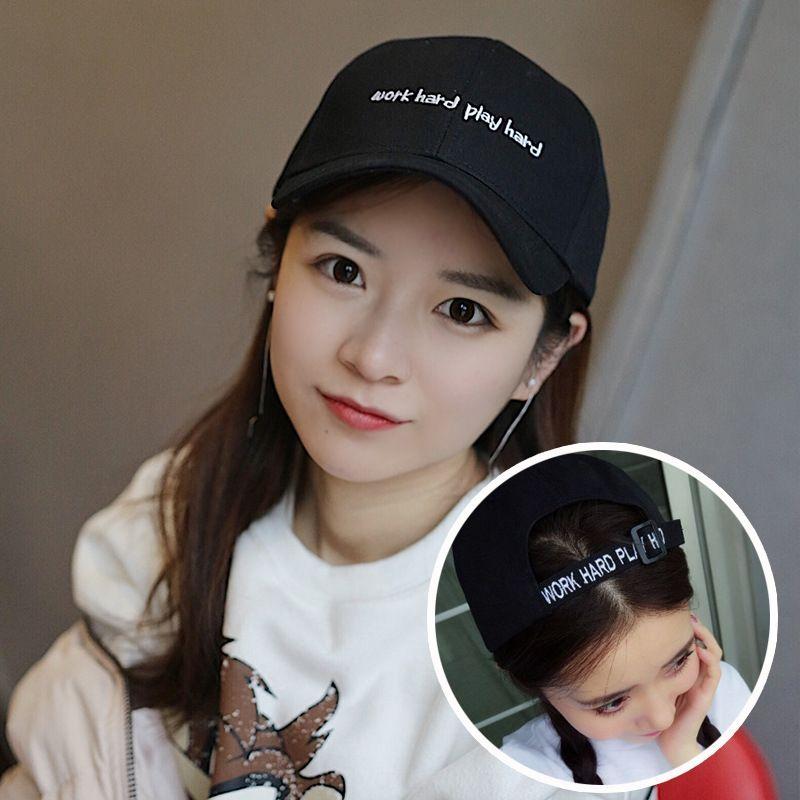Hat female summer Korean style all-match ins autumn round face fashion baseball cap tide Net red baseball cap sun hat