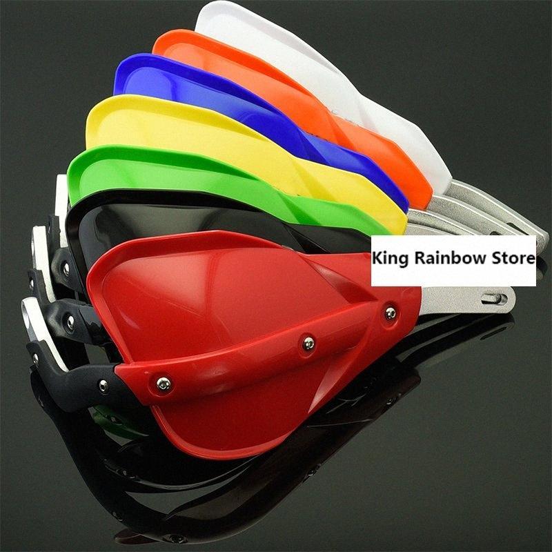 "7 colori Dirt Bike ATV Quad manubrio paramani paramani Fit 7/8"" 22 millimetri bar o 1-1 / 8 28 millimetri Fat Bar motociclo motocross wt1N #"