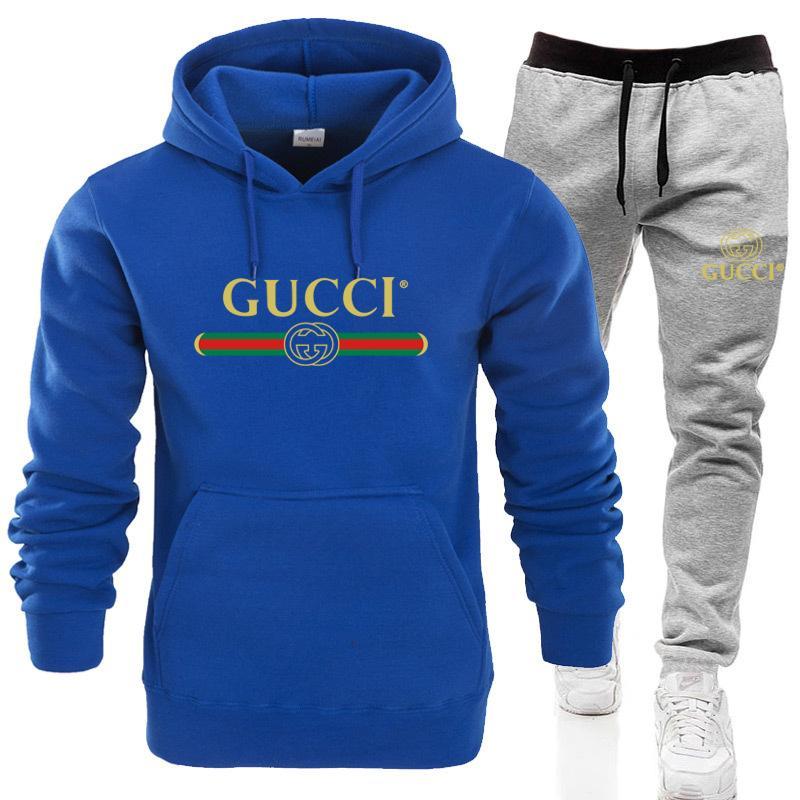 set Hot vente Sweatsuit pantalons de survêtement pour hommes femmes Vêtements pour hommes Sweat-shirt Casual Tennis Sport Survêtement Survêtement