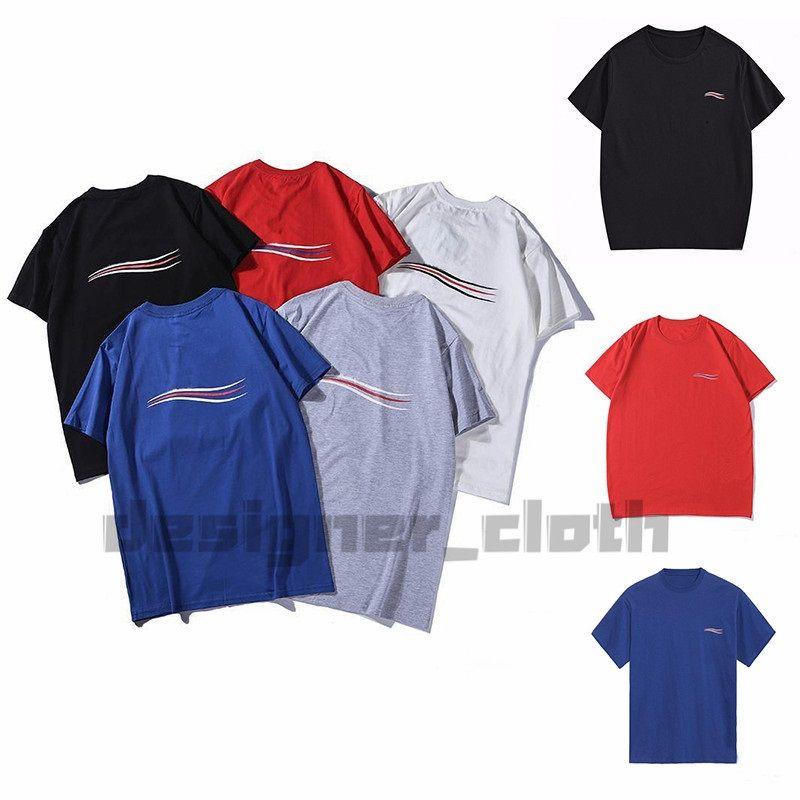 새로운 20ss 남성 디자이너 T 셔츠 힙합 패션 버드 인쇄 짧은 소매 고품질 남성 여성 T 셔츠 폴로 아시아 크기 S-XXL