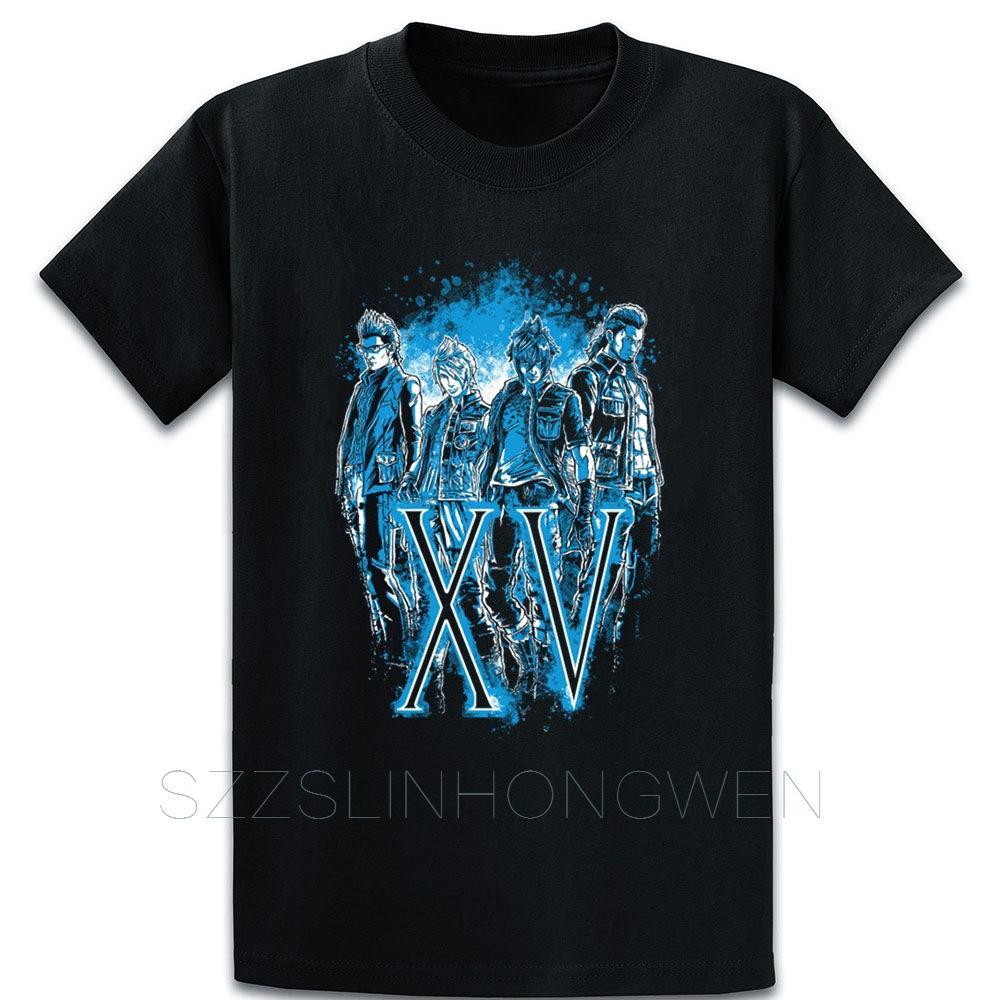 Final Fantasy Xv Tişörtlü Tee Gömlek Grafik Üzeri Boyut S-5XL Vintage Komik Doğal Yaz Stili Gömlek oluştur