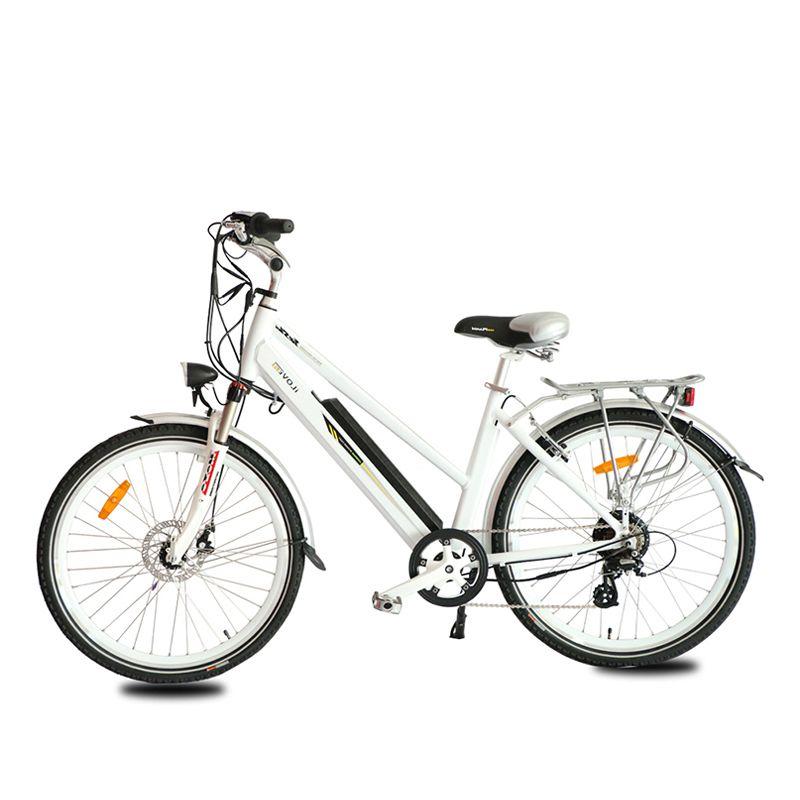 Arka ile 36v Elektrikli Bisiklet Akü 26''x1.95 36V 250W Fırçasız Hub Motor Elektrik Dağ Bisiklet Lityum Batarya Ebike Raf