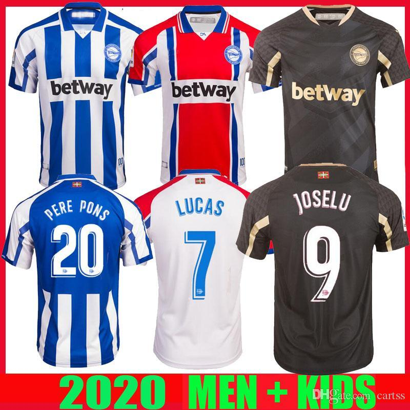 20 21 ديبورتيفو الافيس بالقميص لكرة القدم 2020 2021 ألافيس 100th المئوية camiseta دي فوتبول PERE PONS لوكاس خوسيلو لاغوارديا قمصان كرة القدم