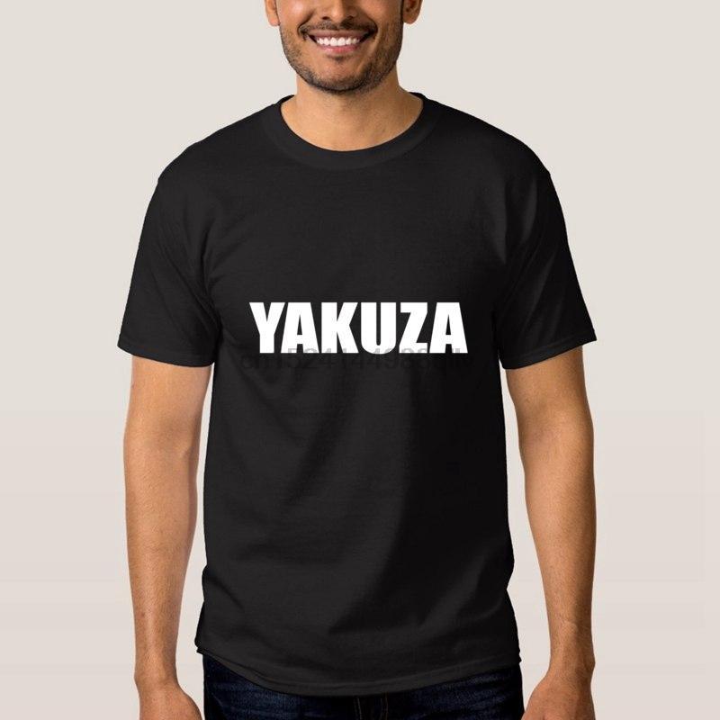 Verde camiseta oscura para hombre Yakuza para hombre llano Tee Shirts 2020 para hombre de las camisas blancas