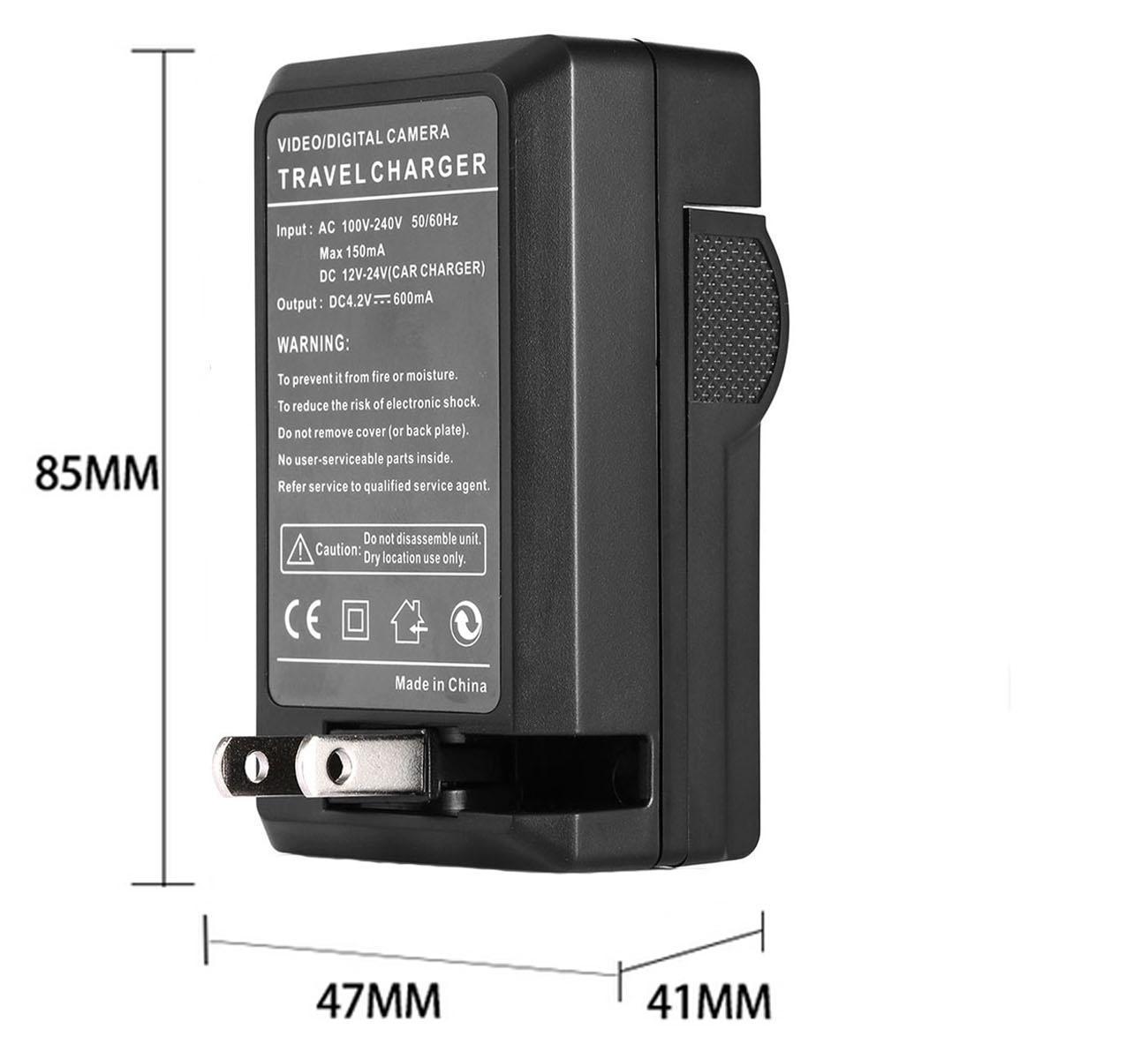 HDR-SR11E HDR-SR12E Handycam Camcorder LCD USB Travel Battery Charger for Sony HDR-SR10E
