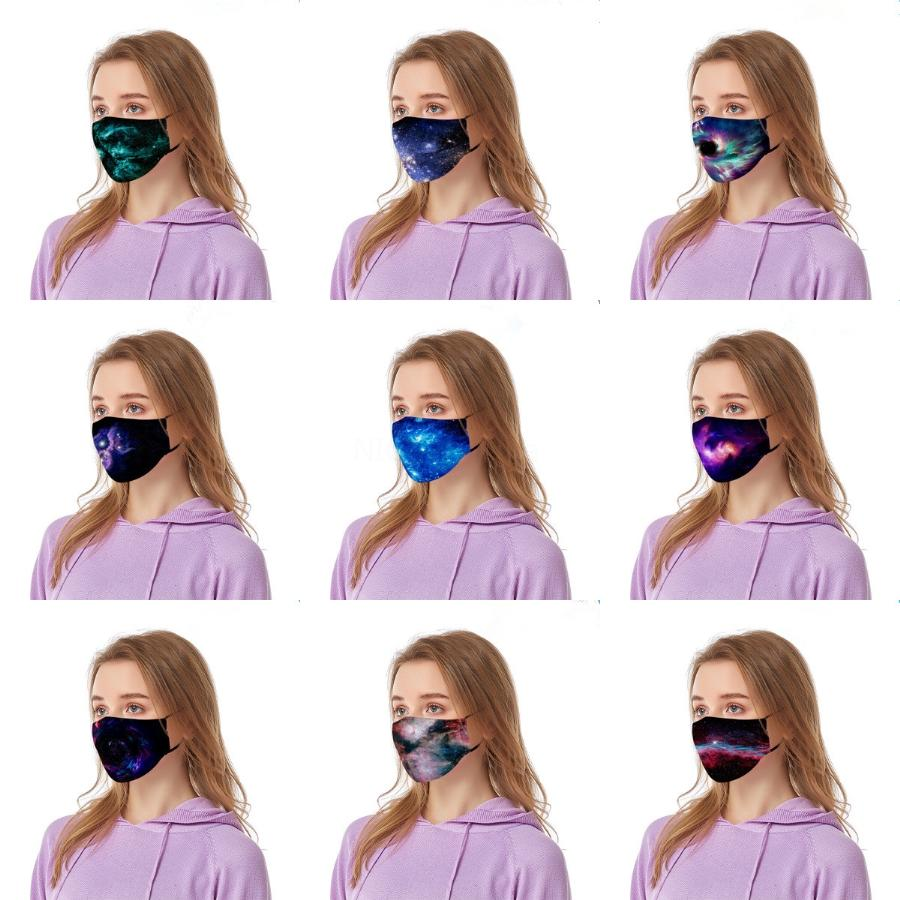 Dener Printed Fa Maske I Wasable Breatable Unisex Fa Masken Wiederverwendbare Anti-Staub-Nebel Anti Pollution Mout Er Erwachsener 100 1Pcs # 679 # 989