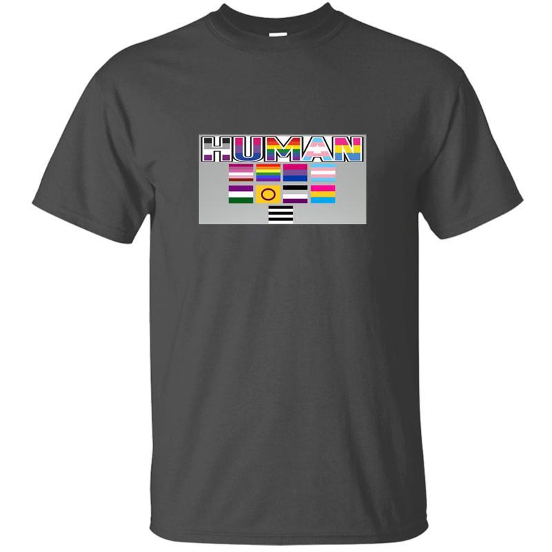 Sonnenlicht Menschen Stolz Flaggen T-Shirt Anti-Falten-schwarze Frau Comics Männer und Frauen T-Shirts Short Sleeve T-Shirt