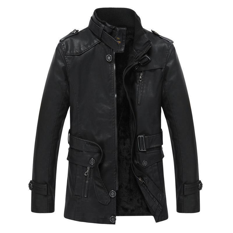 Yeni Moda Coat Erkekler Casual Ceket Kış Erkek Moda Yüksek Kalite Ceket Kaban Giyim DD6MF