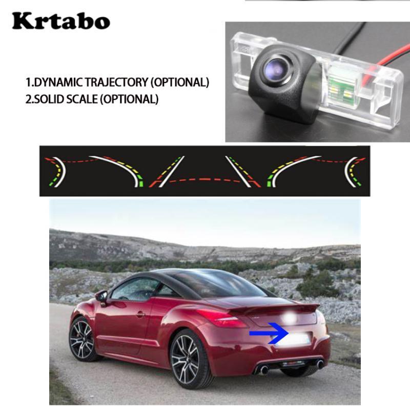 Pour 2009 ~ RCZ RCZ 2020 moteur fonction de la piste Vue arrière miroir navigation universelle DVD GPS de voiture de vision nocturne Starlight